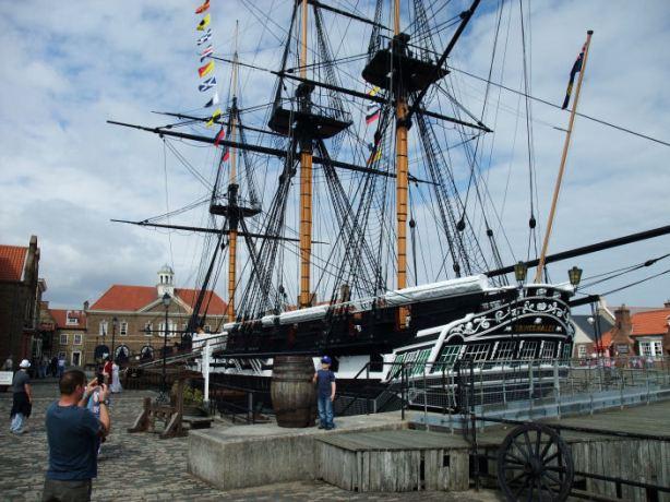 HMS Trincomalee - Historic Quay - Hartlepool