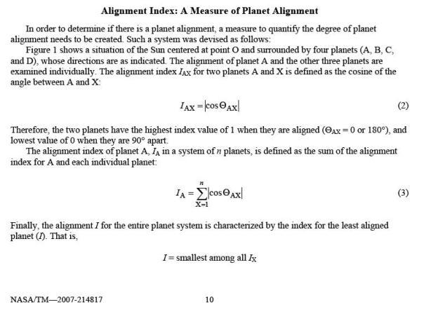 formulae for most aligned days
