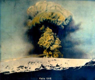 Katla 1918 Erruption