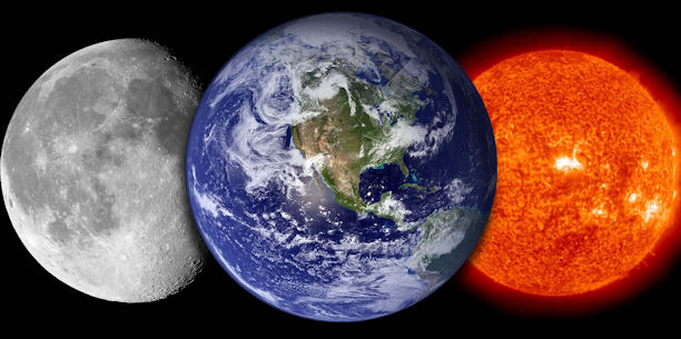 Why Earth's surface is so much warmer than the Moon's ...
