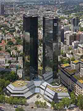 Deutsche-Bank Headquarters in Frankfurt