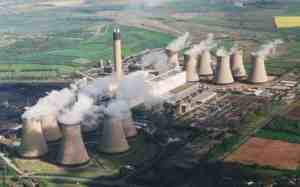 Drax powerstation, generating 7% of Britains needs, is being forced to convert to imported woodchips.