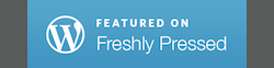 Freshely Pressed Wordpress graphic