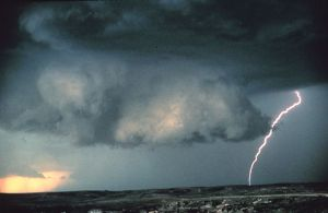 Storm clouds arriving [image credit: Wikipedia]