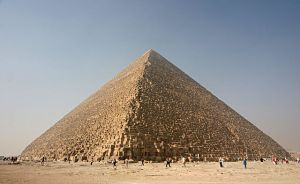 Great Pyramid of Giza [image credit: Wikipedia]