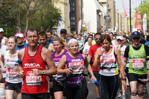 London marathon {credit: Wikipedia]