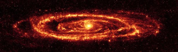 Andromeda galaxy [credit: Wikipedia]