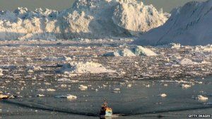 Arctic sea ice [image credit: BBC/Getty Images]
