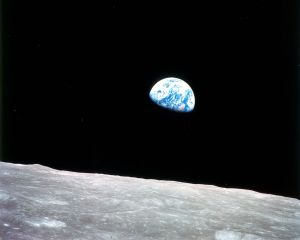 View from the Moon [credit: Wikipedia]