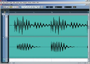 From SoundonSound.com: Here you can see the original waveforms of the two different kick-drum samples. It's clear that they are drifting in and out of phase with each other. The resulting phase cancellation made it impossible to arrive at a consistent sound, so Mike had to edit them back into phase before processing.