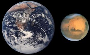 Mars-Earth comparison [image credit: Wikipedia]