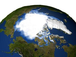 Arctic ice [image credit: NASA]