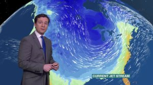 Spot the polar vortex [image credit: BBC]