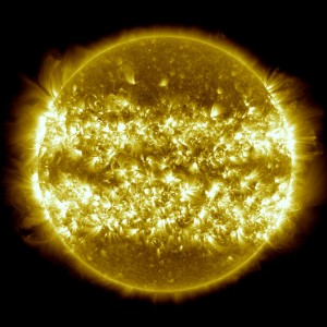 Active solar regions [image credit: NASA/Goddard]