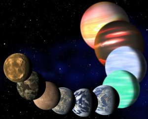 Solar system planets [image credit: BBC]