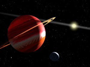 Jupiter-sized exoplanet [Wikipedia]