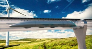 """A five-mile """"Hyperloop"""" test project is planned for Quay Valley"""