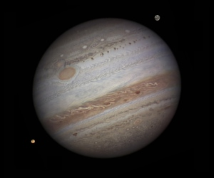 Jupiter dominates the solar system