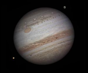 Jupiter dominates the solar system