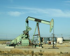 Nodding donkey, or pump jack [credit: Wikipedia]