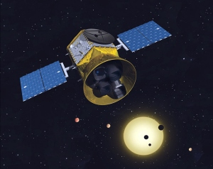 NASA's next exoplanet hunter (TESS)  [image credit: MIT]