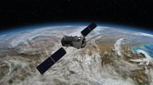 NASA 'global warming satellite' (their description)  [credit: NASA]