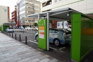 Charging station [image credit: Dean Wormald]