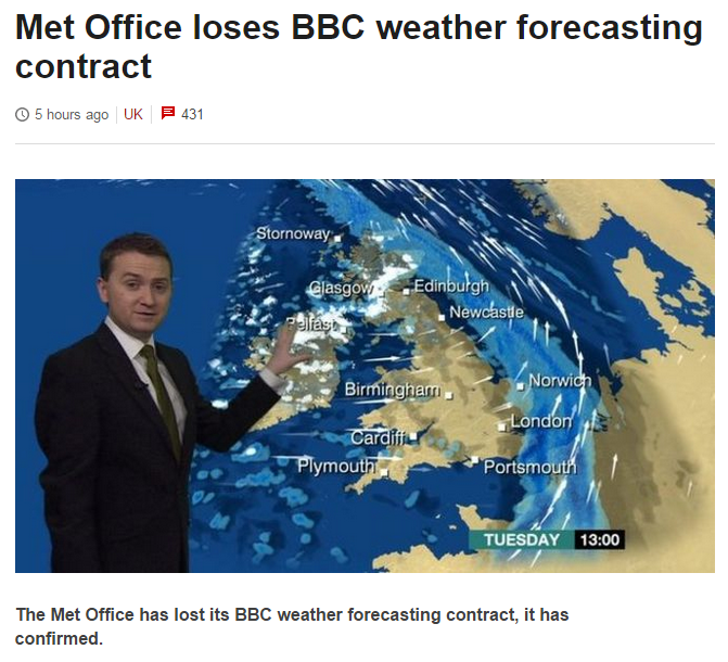 Frosty forecast for bbc met office relations tallbloke 39 s talkshop - Www met office weather forecast ...