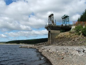 Loch Doon Hydro  - Water intake for Drumjohn hydro power station  [image credit: Mark Klimek]