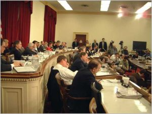 Congressional hearing [image credit: Wikipedia]