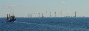 Offshore wind farm [image credit: Wikipedia]
