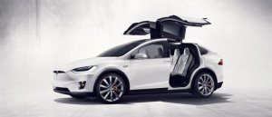 Tesla model X [image credit: IB Times]