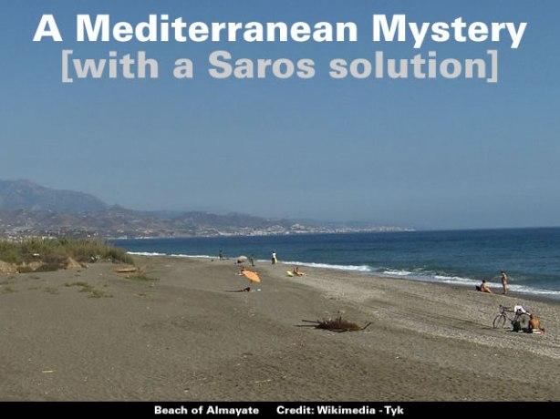 A Mediterranean Mystery