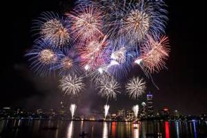 Could fireworks technology replace fossil fuels?  [image credit: boston.com]