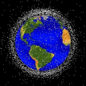 Space debris [credit: NASA]