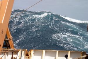 Out in the Atlantic Ocean [image credit: NASA]