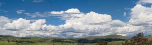 Cumuliform cloudscape over Swifts Creek, Australia [image credit: Wikipedia]