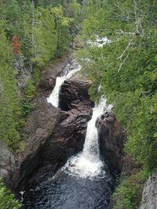 Devil's Kettle at Judge C. R. Magney State Park [image credit: Chris857 / Wikipedia]