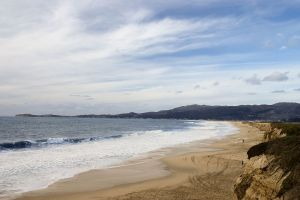 Half Moon Bay State Beach, California [credit: Wikipedia]
