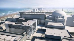 Hinkley Point C nuclear site [image credit: BBC]
