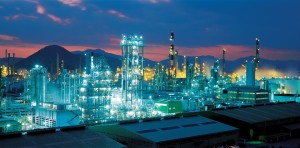 Petrochemical industry plant [image credit: Business Korea]