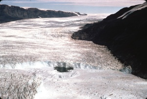 Rinks Glacier, West Greenland  [image credit: NSIDC]