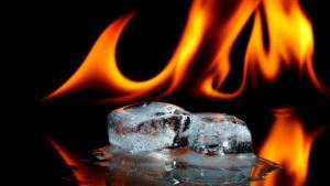 Hot or cold[Image credit: BBC]