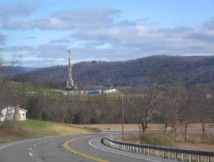 Shale formation for natural gas in Pennsylvania, USA.  [image credit:  businesskorea.co.kr]