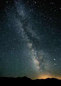 The Milky Way in the night sky over Black Rock Desert, Nevada [image credit: Steve Jurvetson / Wikipedia]