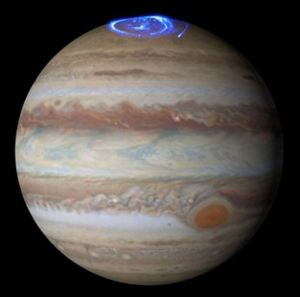 Aurora on Jupiter [image credit: NASA/ESA]
