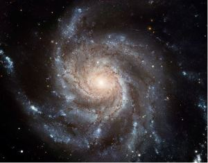 Spiral galaxy NGC 5457 aka the Pinwheel Galaxy [image credit: European Space Agency & NASA]