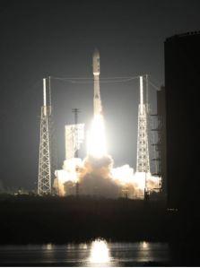 Lift-off [image credit: NASA]