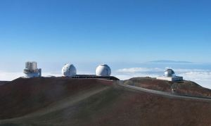 Subaru telescope, Hawaii (far left) [image credit: Wikipedia]