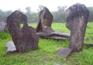 Some stones of Rego Grande, known as the 'Amazon Stonehenge'